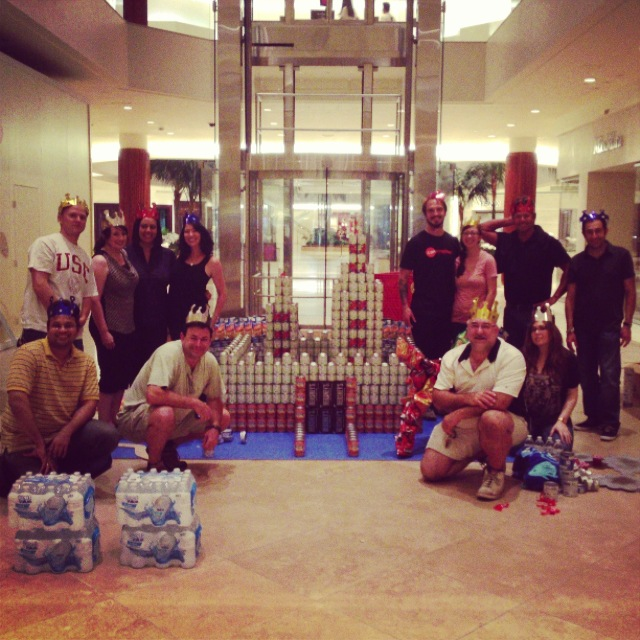 Our BTN 2013 CANstruction OC Team!!